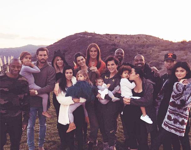 семья кардашьян фото 2016